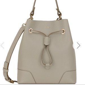 Furla Tan Bucket Bag